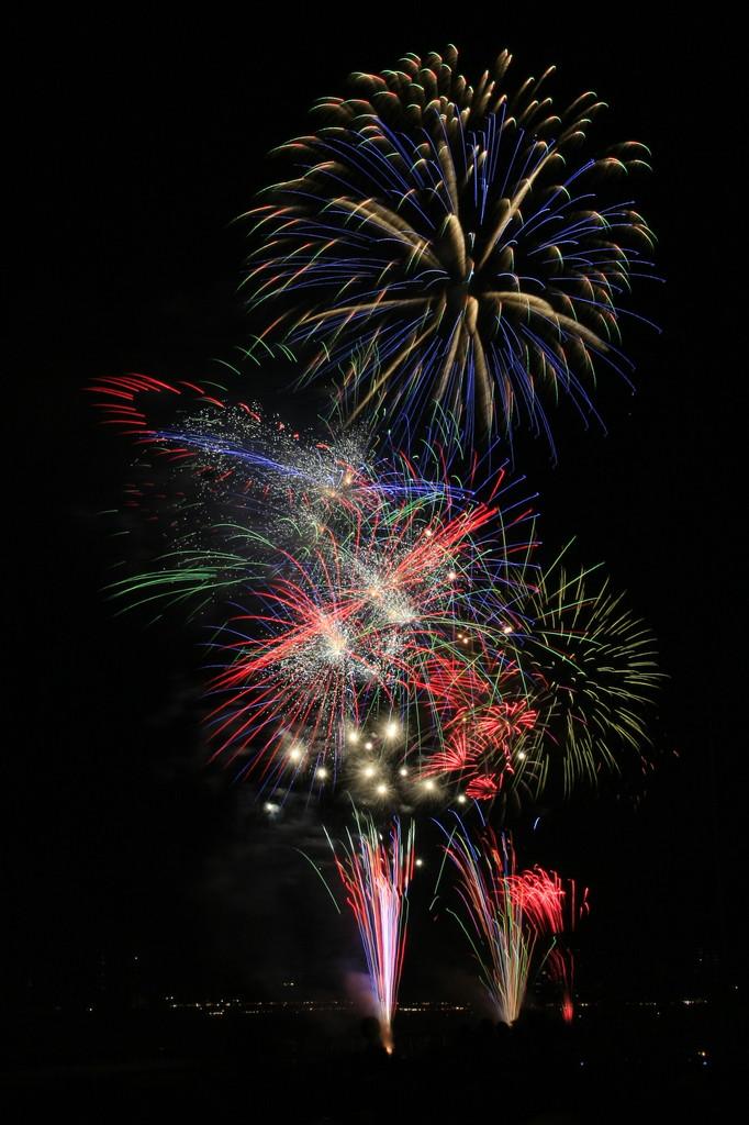 長良川の花火