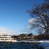 十和田湖と遊覧船
