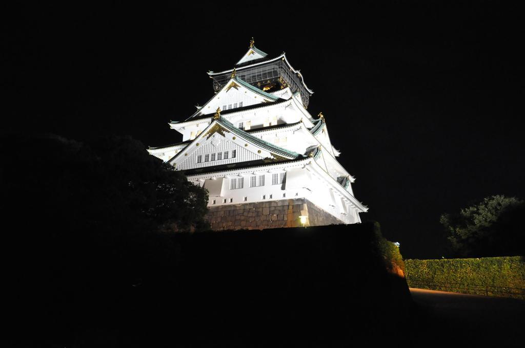 大阪城~ライトアップ