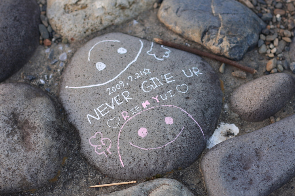 NEVER GIVE UR