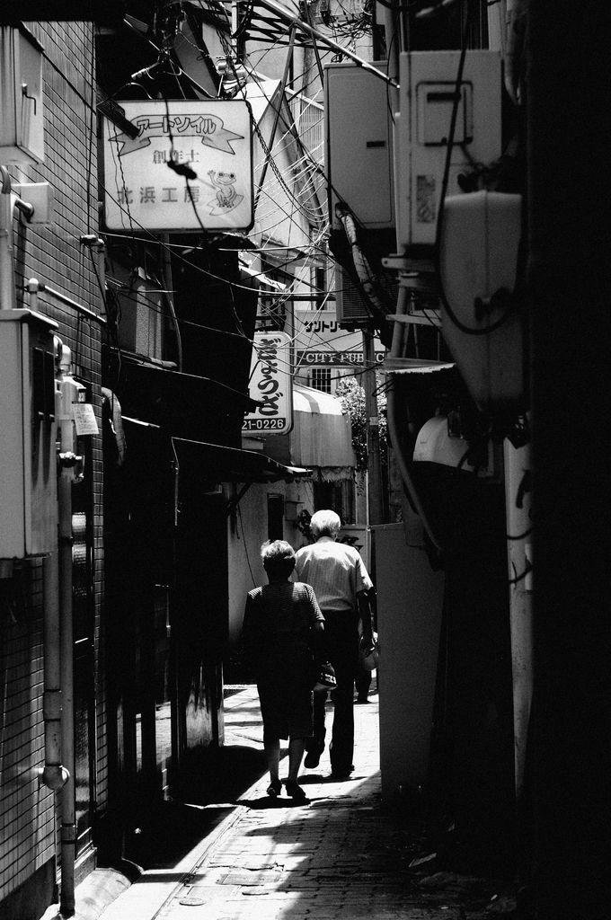 二人の歩む道