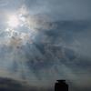 雲が作る明暗