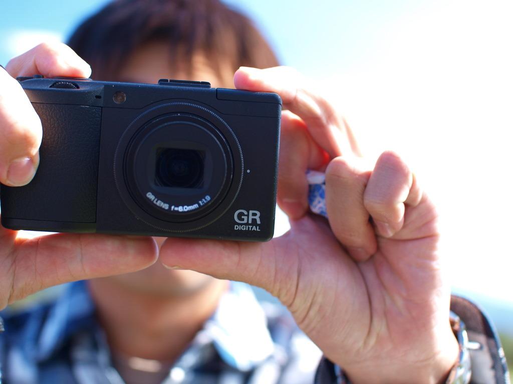 カメラ買ったんだ