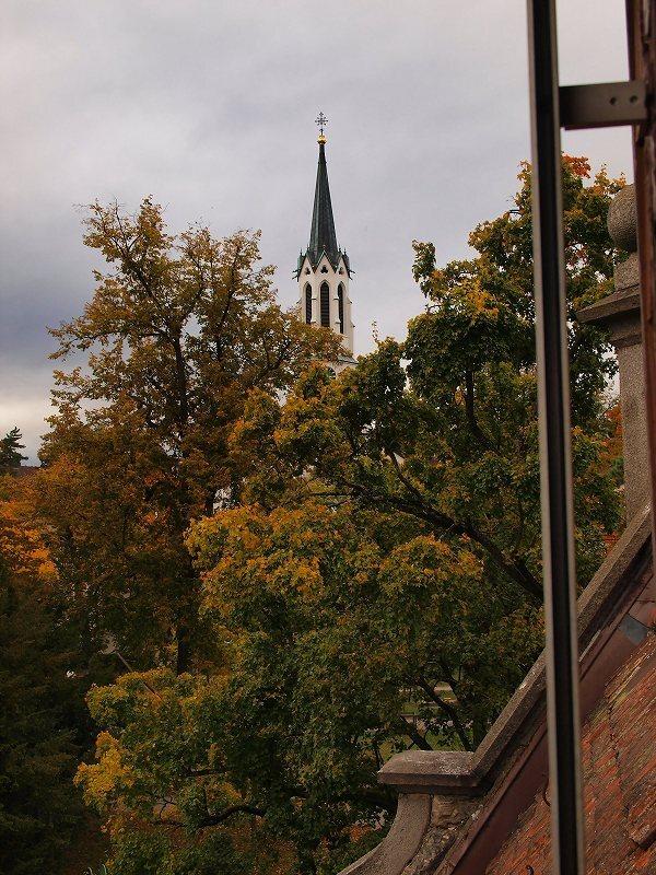 ホテルの窓からの風景(シャウハウゼン)