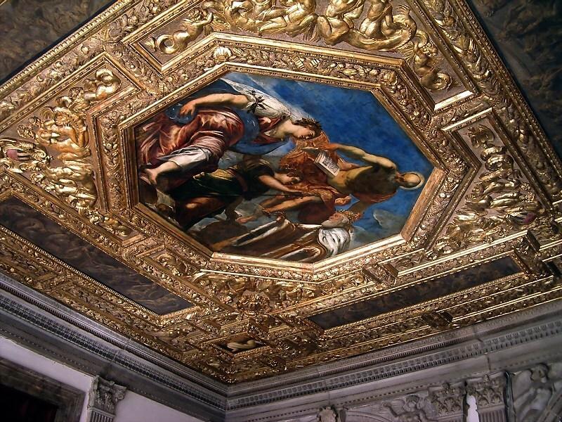 天井画(ドゥカーレ宮殿)