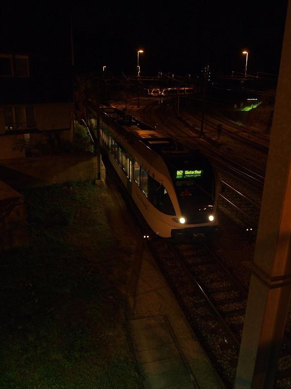 ヴィンタートゥールからの列車(シャウハウゼン)