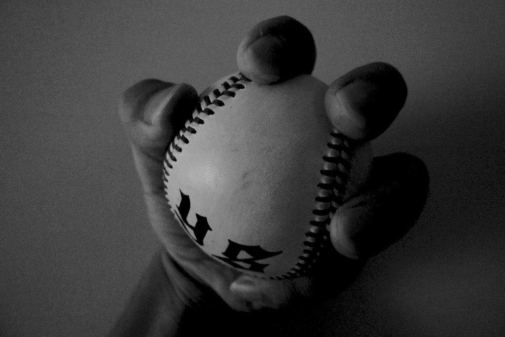 僕の手とボール
