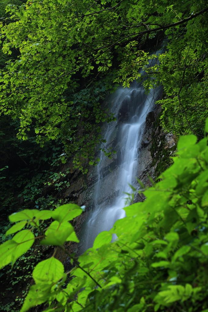 常虹の滝②