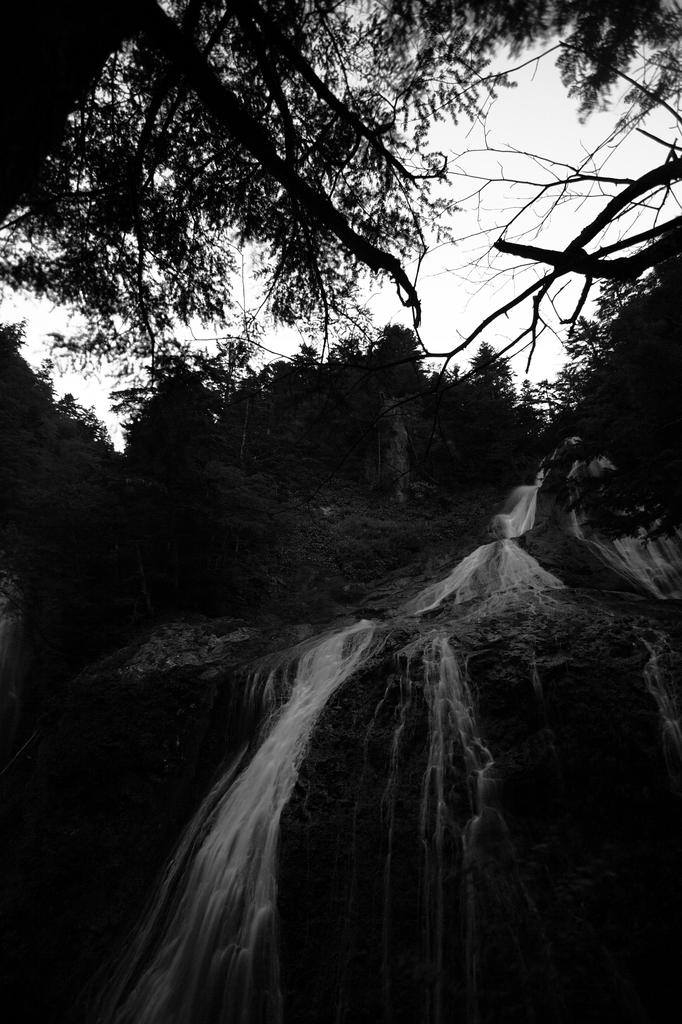 滝(夜景)