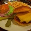 チーズハンバーガー肉は150g