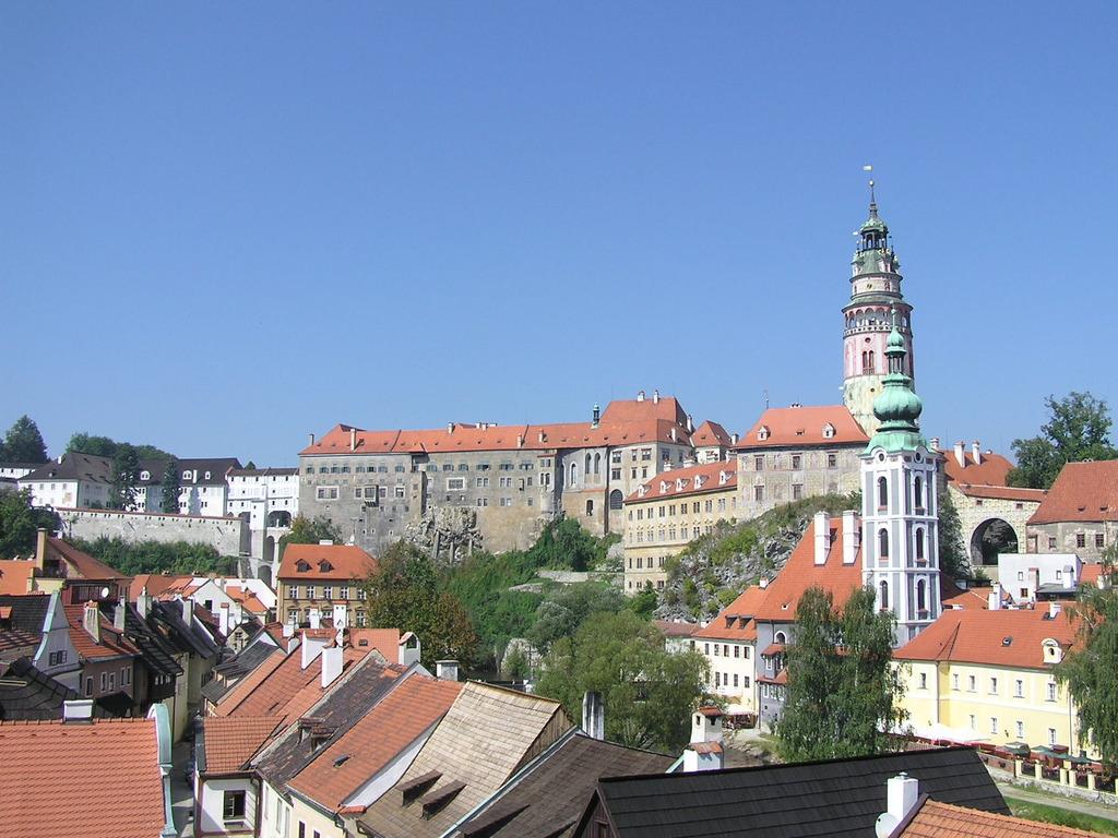 中世の町並み