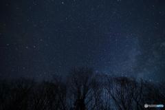 夜空いっぱいの星