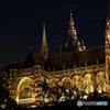 夜の聖ヴィート大聖堂