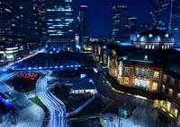 NIKON NIKON D7200で撮影した(東京駅の夜)の写真(画像)