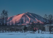 モルゲンロートの浅間山