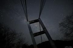 室生湖でこと座流星群を!!