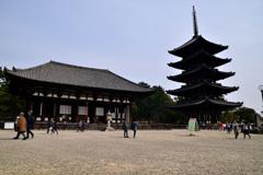奈良のシンボル・・・興福寺