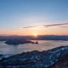夜明けの洞爺湖 そのいち。
