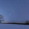 星空と3本の木。
