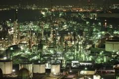 久しぶりの工場夜景