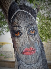 ツリー ペイント painted Tree
