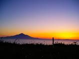 最北に沈む夕日を眺めて…