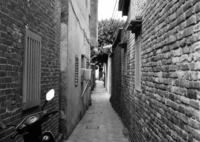 COSINA Zeiss Ikonで撮影した(台湾鹿港路地裏5)の写真(画像)