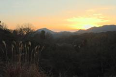 冬の夕焼け 2