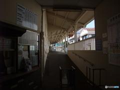 岳南鉄道 吉原本町駅改札