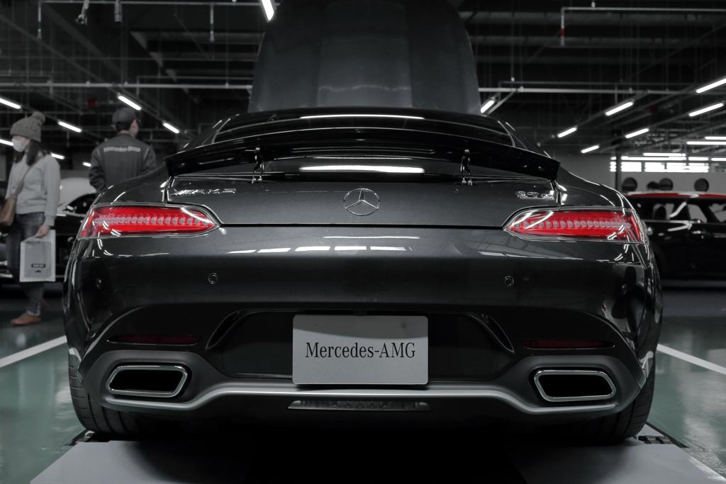 尻力(Mercedes AMG GT S)