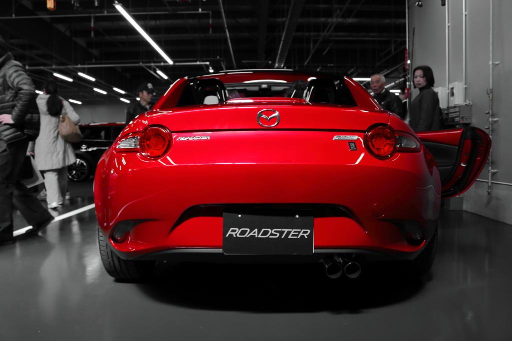 尻力(Mazda Roadster RF)