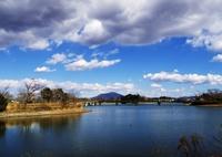 OLYMPUS E-M1で撮影した(砂沼と筑波山)の写真(画像)