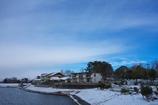 珍しく雪が降りました #4