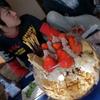 金魚鉢ジャンボパフェ
