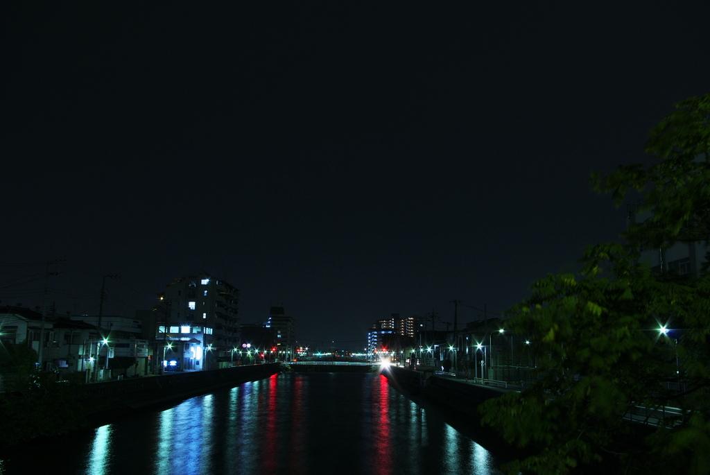 花畑運河(足立区の風景)