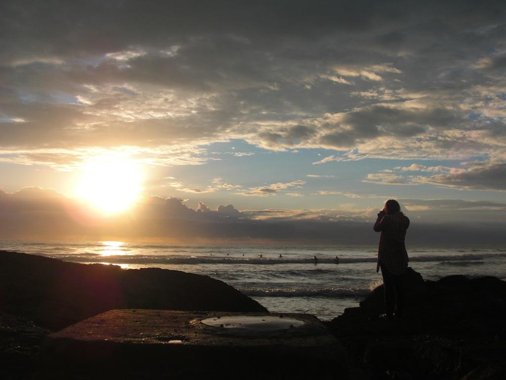Australiaの朝日
