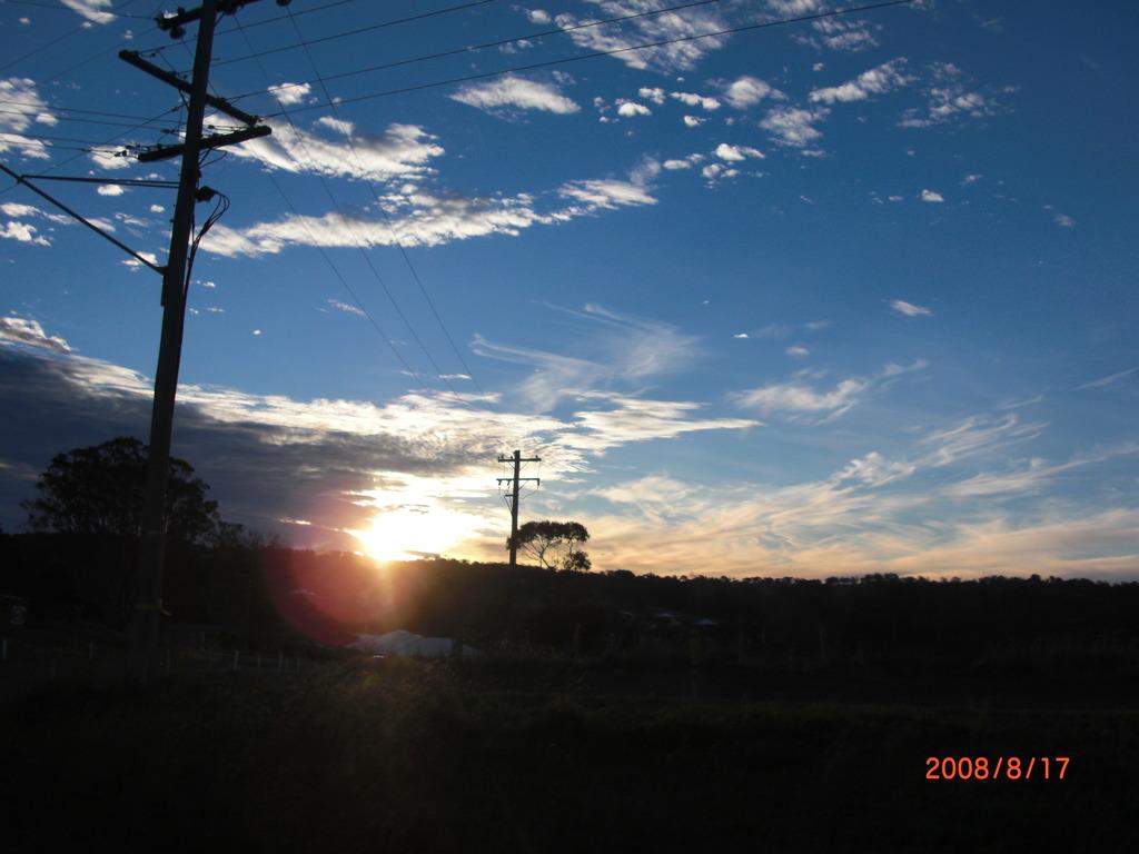 Australiaの夕日