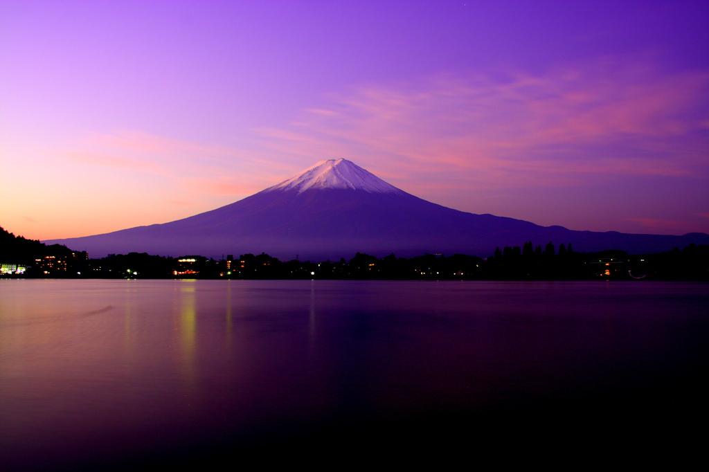 富士山 in 河口湖