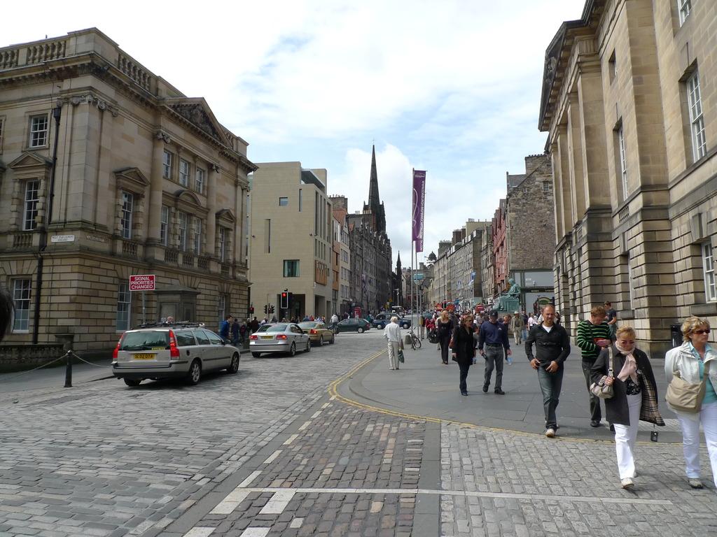 Royal Mile@Edinburgh