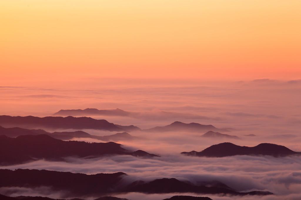 天空の海原