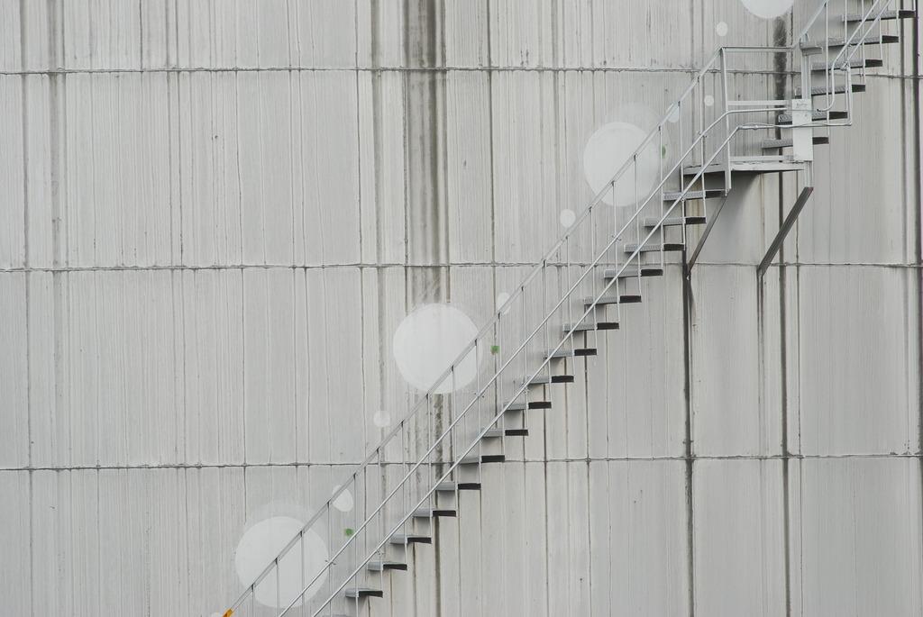 タンクの階段