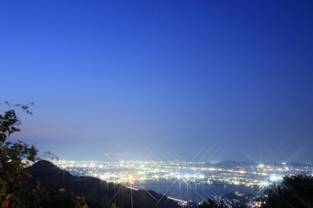 金甲山からの夜景