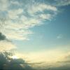 台風あけの空