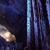 秋芳洞 光響ファンタジー 水と大地の神秘 黄金柱