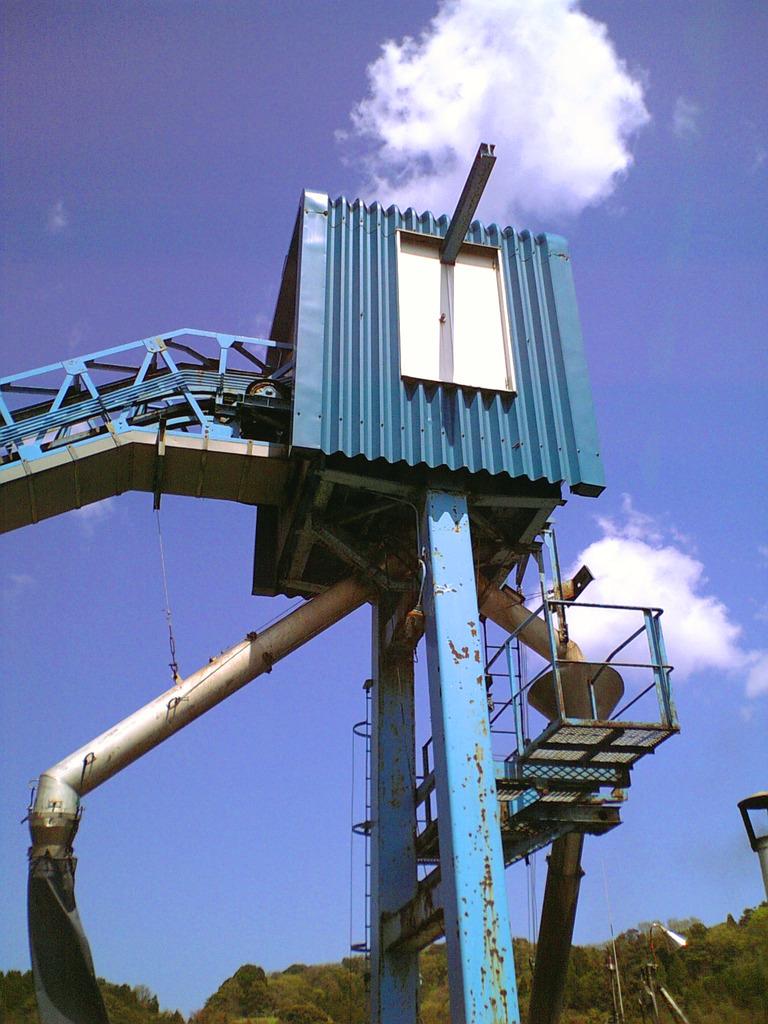 京都伊根漁港の給氷機