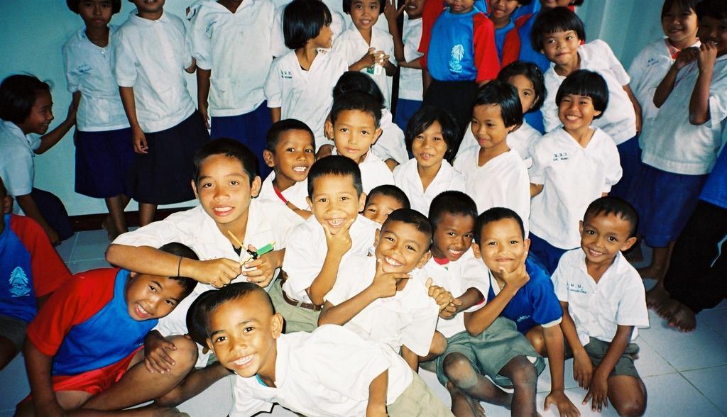 タイ スリン県の記憶  smile