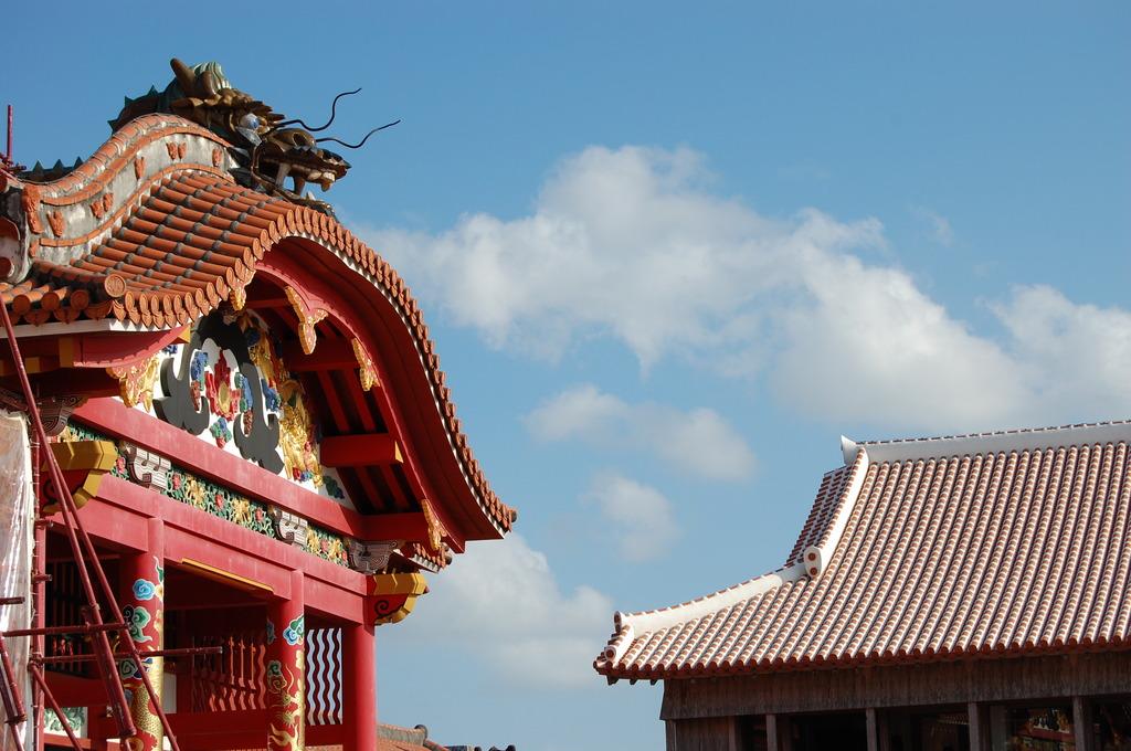 首里城本殿の龍