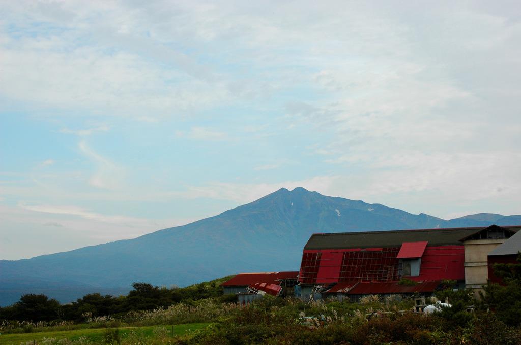 鳥海山(土田牧場から)