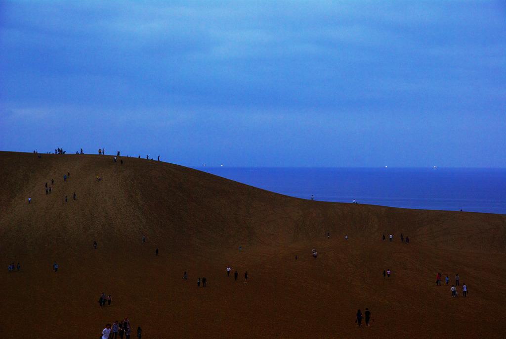 空と砂、海と光。