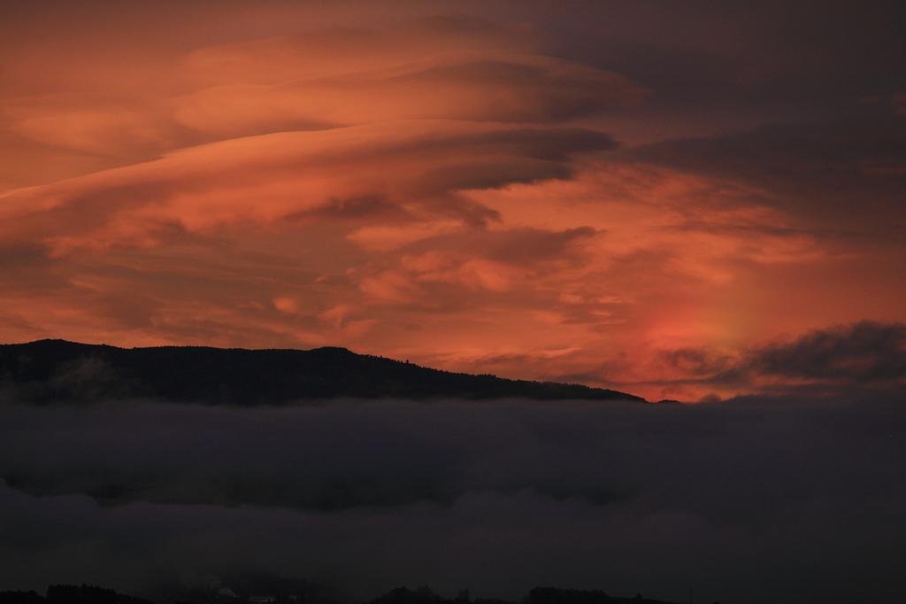 夕焼け雲2